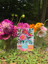 "Load image into Gallery viewer, August Daily Painting Day 13 ""Just Love"" 5x7 inch Floral Original - Bethany Joy Art"