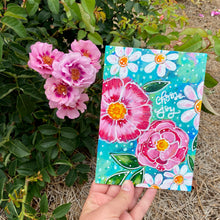 "Load image into Gallery viewer, August 2020 Daily Painting Day 14 ""Blooms of Joy"" 5x7 inch original"