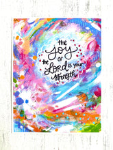 Load image into Gallery viewer, The Joy of the Lord 8.5x11 inch art print - Bethany Joy Art