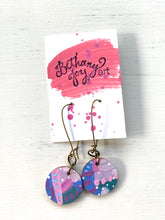 Load image into Gallery viewer, Colorful, Hand Painted Earrings 74