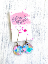 Load image into Gallery viewer, Colorful, Hand Painted Earrings 56 - Bethany Joy Art