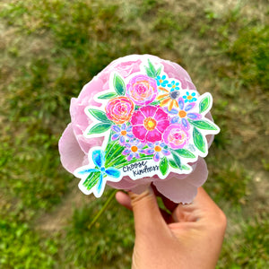 Choose Kindness Bouquet- May Sticker of the Month