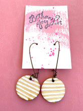 Load image into Gallery viewer, Colorful, Hand Painted Earrings 13 - Bethany Joy Art