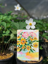 "Load image into Gallery viewer, August Daily Painting Day 10 ""Be The Sunshine"" 5x7 inch Floral Original - Bethany Joy Art"