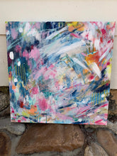 "Load image into Gallery viewer, Abstract Original Painting ""Daydreaming"" 20x20 inch Canvas - Bethany Joy Art"