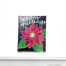 Load image into Gallery viewer, Season's Greetings 8.5x11 inch holiday art print