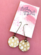 Load image into Gallery viewer, Colorful, Hand Painted Earrings 20 - Bethany Joy Art