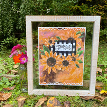 Load image into Gallery viewer, Grateful Sunflowers 8.5x11 inch art print