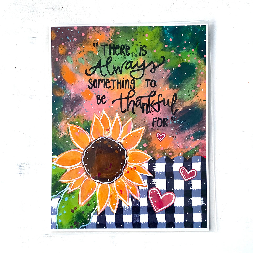 Always Thankful 8.5x11 inch art print