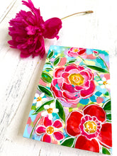 "Load image into Gallery viewer, ""May Flowers 4"" original floral painting on 4x6 inch wood panel"