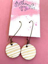 Load image into Gallery viewer, Colorful, Hand Painted Earrings 12 - Bethany Joy Art