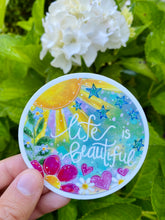 Load image into Gallery viewer, Life is Beautiful - June Sticker of the Month