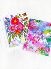 Load image into Gallery viewer, Cheerful Everyday Greeting Cards with Envelopes (Pack of 2) - Bethany Joy Art