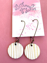 Load image into Gallery viewer, Colorful, Hand Painted Earrings 15 - Bethany Joy Art