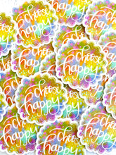 Load image into Gallery viewer, Choose Happy - March Sticker of the Month - Bethany Joy Art