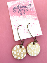 Load image into Gallery viewer, Colorful, Hand Painted Earrings 17 - Bethany Joy Art