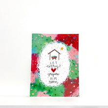 Load image into Gallery viewer, Let Every Heart Prepare Him Room 8.5x11 inch holiday art print