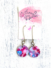Load image into Gallery viewer, Colorful, Hand Painted Earrings 42 - Bethany Joy Art
