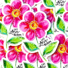 Load image into Gallery viewer, Let Love Bloom Floral August Sticker of the Month