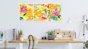 The Happiest Flower 8.5x11 inch art print