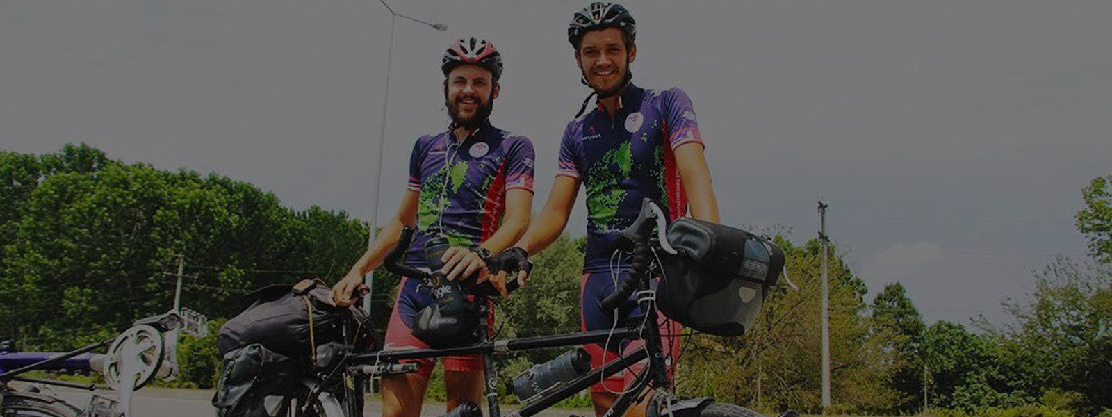 Circumnavigating the world by Tandem Bike