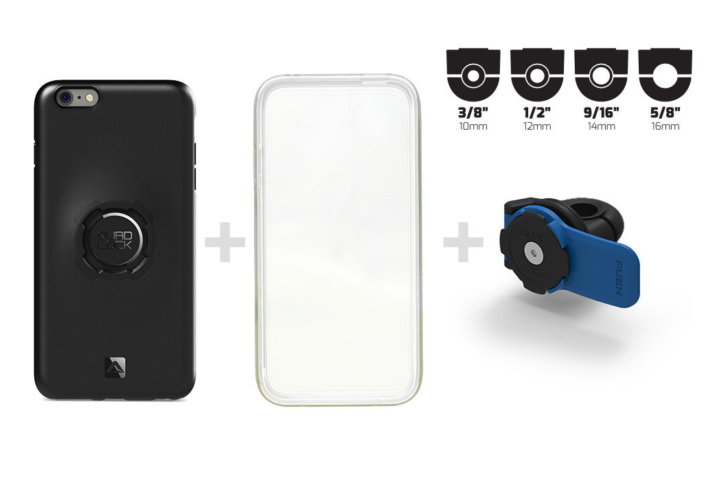 what's included iPhone 6+ mirror mount kit