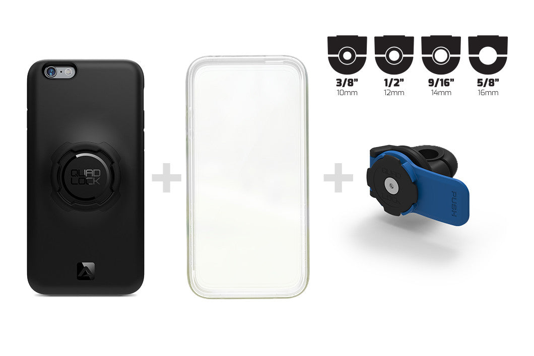what's included iPhone 6 mirror mount kit