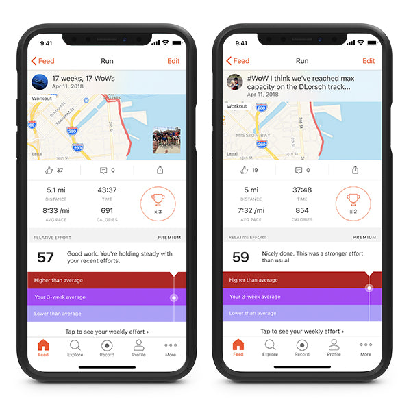 How to measure Relative Effort on the Strava App