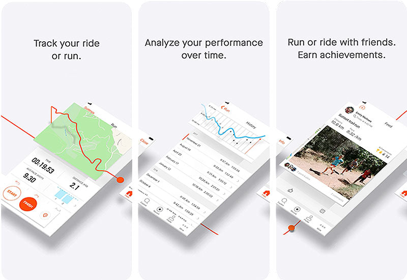 Strava Cycling iPhone Screenshots