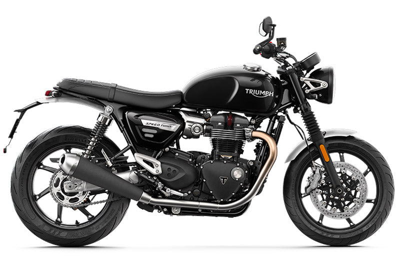 Triumph 2019 Speed Twin Motorcycle in black