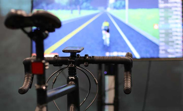 Zwift Quad Lock and Apple TV