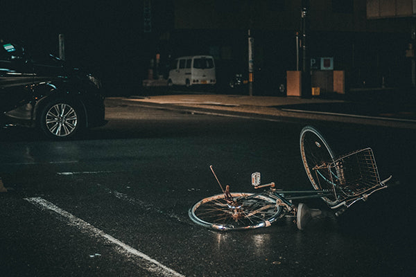 Bike tools are handy to have when riding a bike at night in case of a incident
