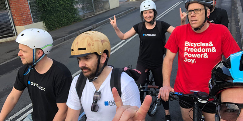 World Bicycle Day Team Rides to Work