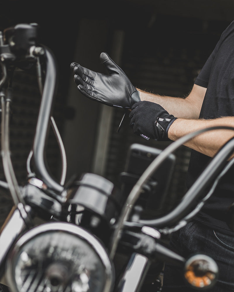 Motorcycle Ghost Gloves by AKIN