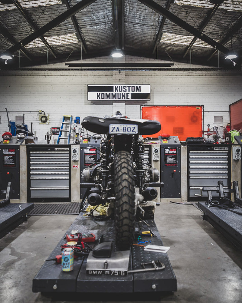 Kustom Kommune workshop in Melbourne, Australia