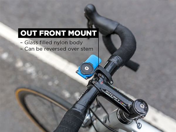 Quad Lock Out Front Mount on Road Bike Handlebars