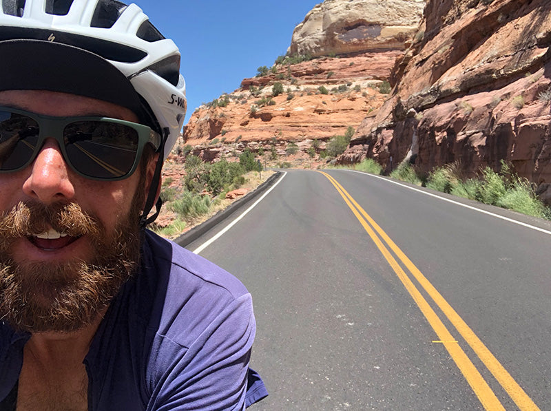 Riding through the USA by Cross-Country Bike to Raise Funds for Glioblastoma