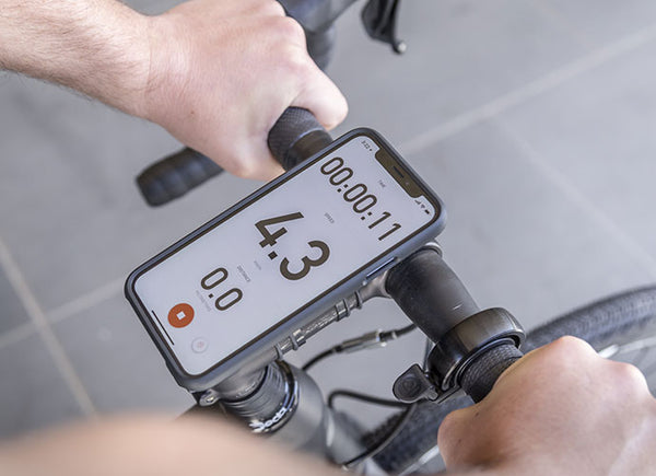Using Strava on Quad Lock for measuring Relative Effort on a ride