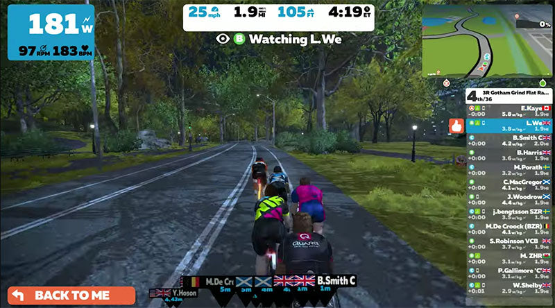 zwift screenshot