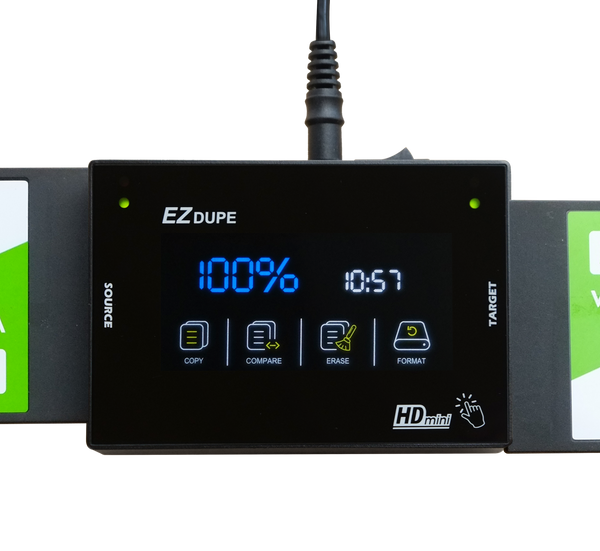 EZ Dupe SOHO Touch HDMini 1 to 1 Hard Drive Duplicator with Touch Screen