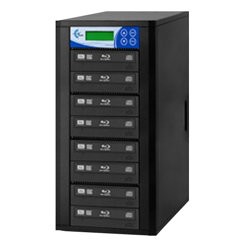 7-Copy 16x Blu-Ray/DVD/CD Duplicator with Reader (EZDBR07B)