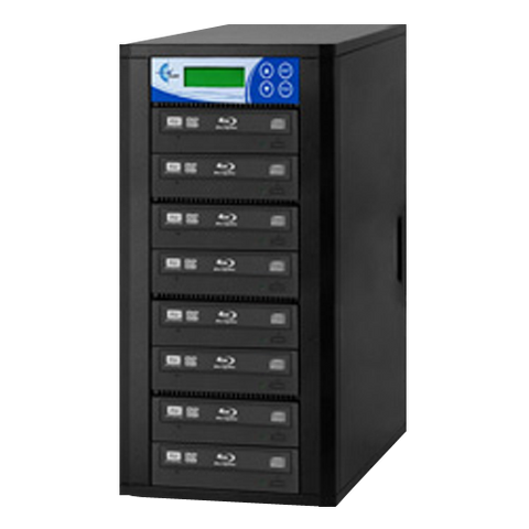 7-Copy Premium 16x Blu-Ray DVD CD Duplicator EZDBR07B