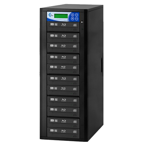10-Copy Premium 16x Blu-Ray DVD CD Duplicator EZDBR10B