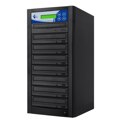 Premium 7-Copy 24x DVD/CD Duplicator (GP07TDVDB)