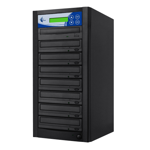 ISO 7 Copy DVD CD Duplicator w/ 1TB HDD + USB (PC07TDVDBISO)