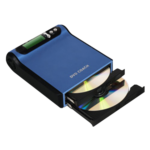 Ultra Slim Single-Target Portable DVD Duplicator (EZD-880)