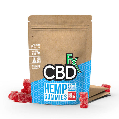 CBD Gummy Bears 40mg (8ct Pouch) - Best CBD Gummies