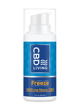 Load image into Gallery viewer, CBD Living Freeze Pump - 1500mg