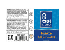 Load image into Gallery viewer, CBD Living Freeze Roll On - 1500mg