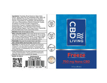 Load image into Gallery viewer, CBD Living Freeze Roll On - 750mg